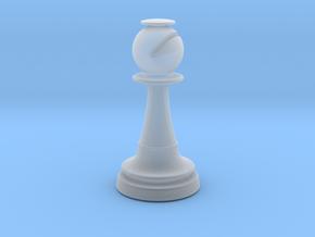 Inception Bishop Chess Piece (Lite) in Smooth Fine Detail Plastic