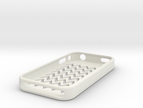 IPhone 4 Case in White Natural Versatile Plastic
