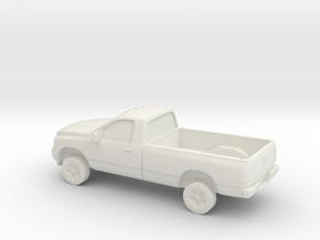 1/87 2006 Dodge Ram Single Cab in White Strong & Flexible