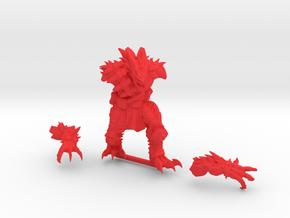 Kurgan in Red Processed Versatile Plastic