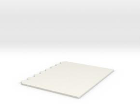 Tricomb in White Natural Versatile Plastic