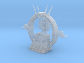 Jungle Throne (10mm scale wargaming accessory) in Smooth Fine Detail Plastic