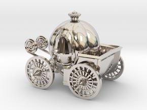 Pumpkin carriage in Platinum