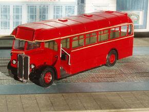 1:43 London Transport T Class (T719-768) Bus in White Natural Versatile Plastic