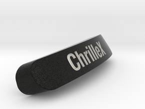 ChrilleX Nameplate for SteelSeries Rival in Full Color Sandstone