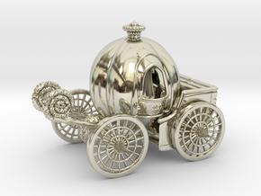 Pumpkin carriage LV2 in 14k White Gold