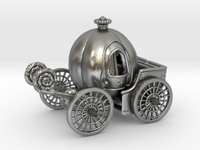 Pumpkin carriage LV2 in Natural Silver