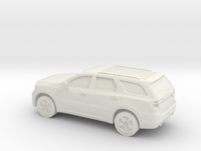 1/87 2011 Dodge Durango  in White Natural Versatile Plastic