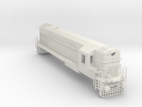1/75 WDM2 INDIAN LOCOMOTIVE in White Natural Versatile Plastic