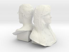 Alex-123-130-back2back in White Natural Versatile Plastic