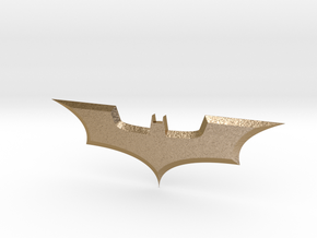 The Dark Knight, Bat dart in Polished Gold Steel