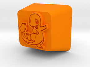 Charmander Cherry MX R4 Keycap in Orange Processed Versatile Plastic