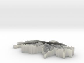 Switzerland Earring in White Natural Versatile Plastic