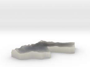 Jordan Earring in White Natural Versatile Plastic