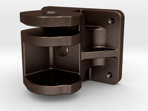 VR Coupler Pocket - STEEL in Matte Bronze Steel