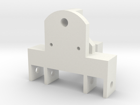 JRRCD Degelman 3pt Adapter 1/64th S Scale in White Natural Versatile Plastic