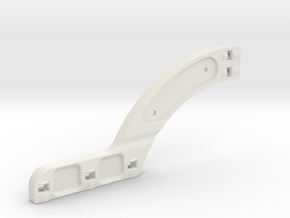 rear chassi stiffener xray xb8 in White Strong & Flexible