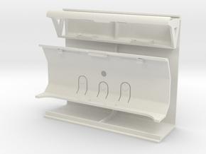 Top Parts 01 in White Natural Versatile Plastic
