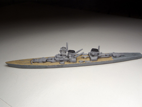 Von der Tann (Panzerschiff P) 1:1800 in White Strong & Flexible