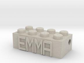 EMMA in Natural Sandstone