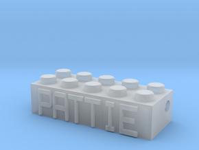 PATTIE in Smooth Fine Detail Plastic