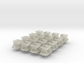Nn3 tipper x 16 in Transparent Acrylic
