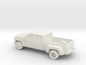 1/87 2008 GMC Sierra HD Dually  in White Natural Versatile Plastic