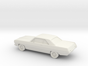 1/87 1971 Plymouth Scamp in White Natural Versatile Plastic