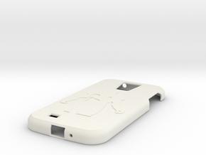 Samsung S4 case in White Natural Versatile Plastic