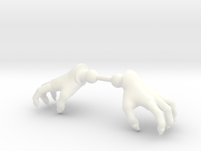 Wizard Hands Claw in White Processed Versatile Plastic