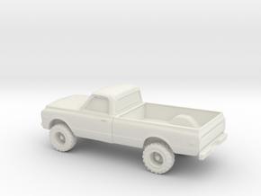 1/87 1969 GMC Sierra in White Natural Versatile Plastic