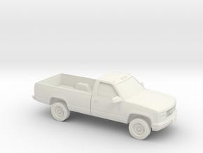 1/87 1988-98 GMC Sierra 2500 in White Natural Versatile Plastic