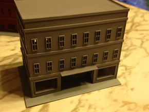 City Building 5 Series Z Scale in Smooth Fine Detail Plastic