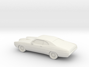 1/87 1970 Mercury Cyclone in White Natural Versatile Plastic