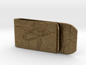 Money clip(Egypt) in Natural Bronze