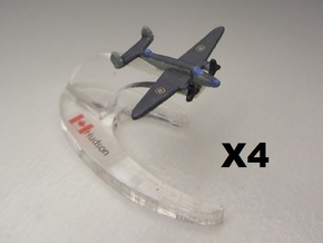 Lockheed Hudson x4 1:900 in White Natural Versatile Plastic