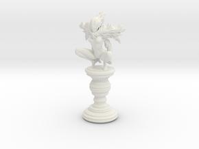 Queen - Pele in White Natural Versatile Plastic
