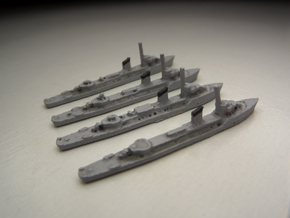 Norwegian Sleipner class (4 ships) 1:1800 in White Strong & Flexible