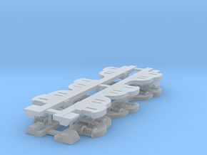 1:64 DL Class Side Frames (4) in Smooth Fine Detail Plastic