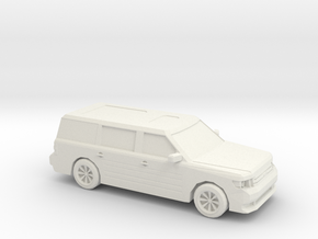 1/87 2011 Ford Flex in White Natural Versatile Plastic