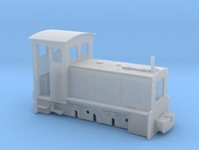 Feldbahnlok LKM Ns3f Spur 1e/1f 1:32 Variante1 in Smooth Fine Detail Plastic