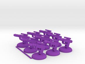 Twilight Shocktroops in Purple Processed Versatile Plastic