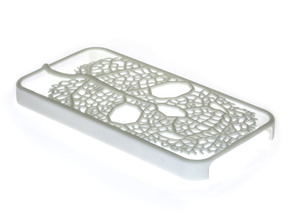 Leaf Skeleton iPhone 4 / 4s Case in White Strong & Flexible