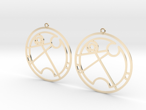 Tahlia - Earrings - Series 1 in 14K Gold