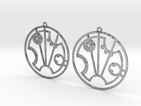 Scarlett - Earrings - Series 1 in Premium Silver