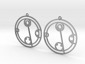 Kylie - Earrings - Series 1 in Premium Silver