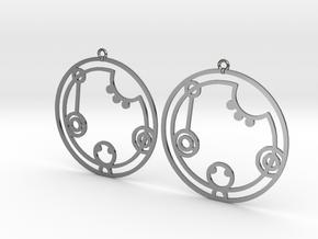 Catherine / Katherine - Earrings - Series 1 in Premium Silver