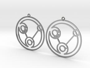 Heidi - Earrings - Series 1 in Premium Silver