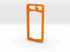 IPhone 5/5S in Orange Processed Versatile Plastic
