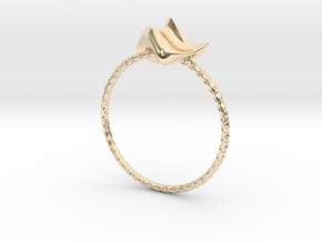 TPG Princes Ring in 14K Yellow Gold